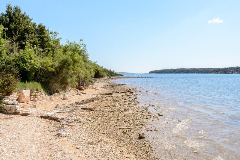 Medulin w Istria półwysepie, Chorwacja fotografia stock