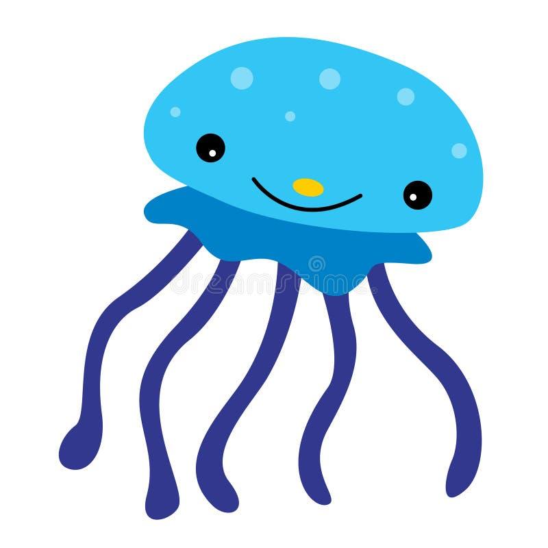 Medusa ilustração royalty free