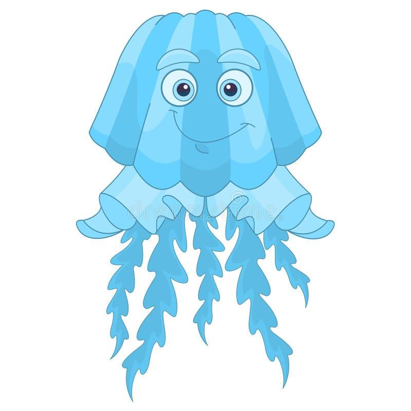 Medusa dos desenhos animados ilustração do vetor