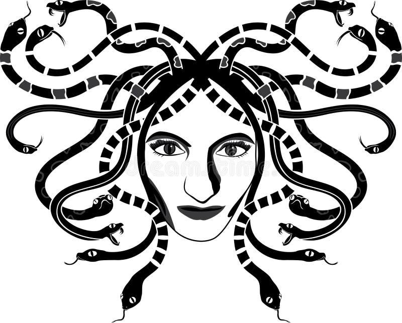 Medusa Gorgona Head Royalty Free Stock Photos