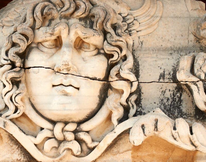 Didyma Apollo Temple, Turkey royalty free stock photo