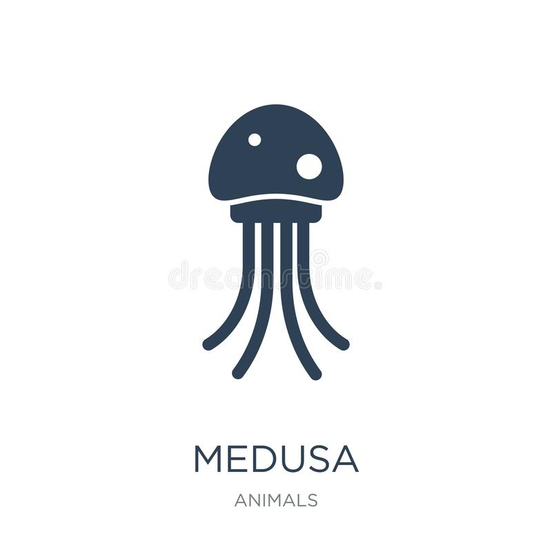 medusa icon in trendy design style. medusa icon isolated on white background. medusa vector icon simple and modern flat symbol for royalty free illustration