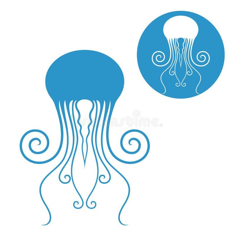 medusas ilustração royalty free