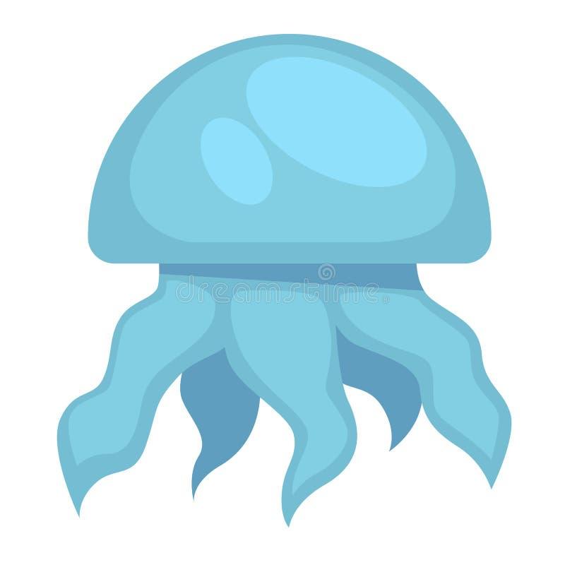 Medusas azuis ilustração do vetor