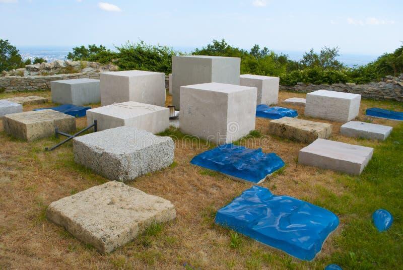 Medvedgrad War Monument Royalty Free Stock Images