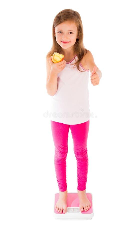 Medvetet äta på barnåldern arkivfoton
