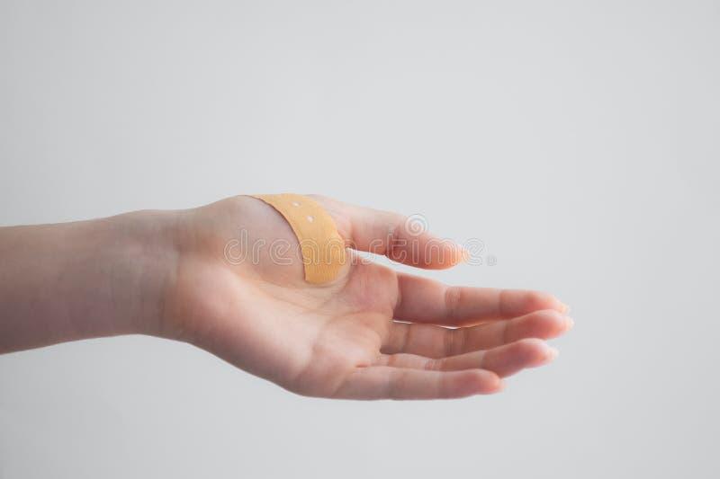 Medycyn ręki zdjęcie stock