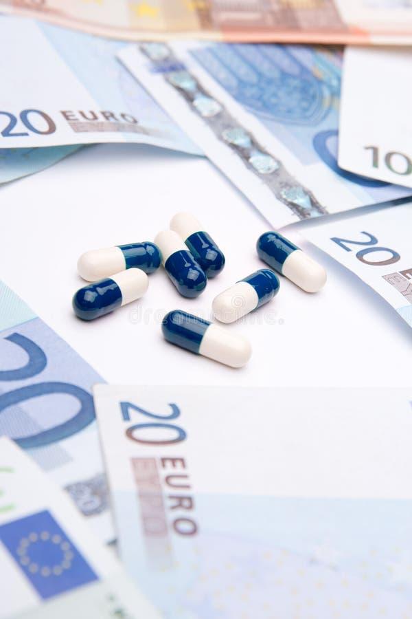Medycyna i pieniądze obraz royalty free