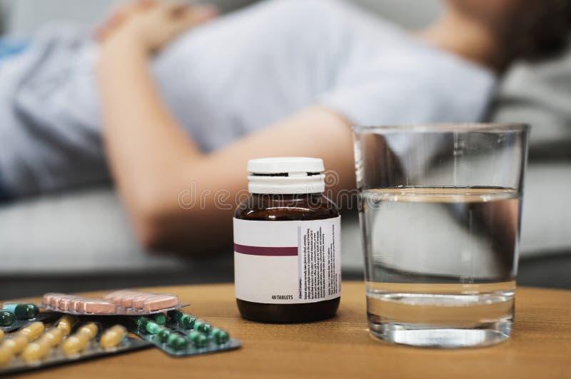 Medycyna leków środka farmaceutycznego traktowanie obrazy royalty free