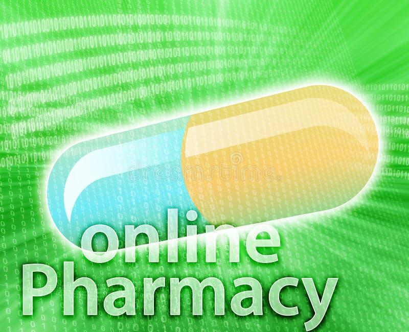 Download Medycyna online ilustracji. Obraz złożonej z zdrowy, kapsuła - 7188615
