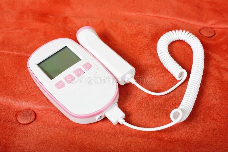Medycyna - Płodowy Doppler obrazy stock