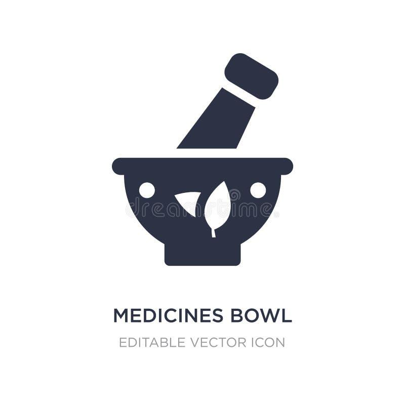 medycyna pucharu ikona na białym tle Prosta element ilustracja od Medycznego pojęcia ilustracji