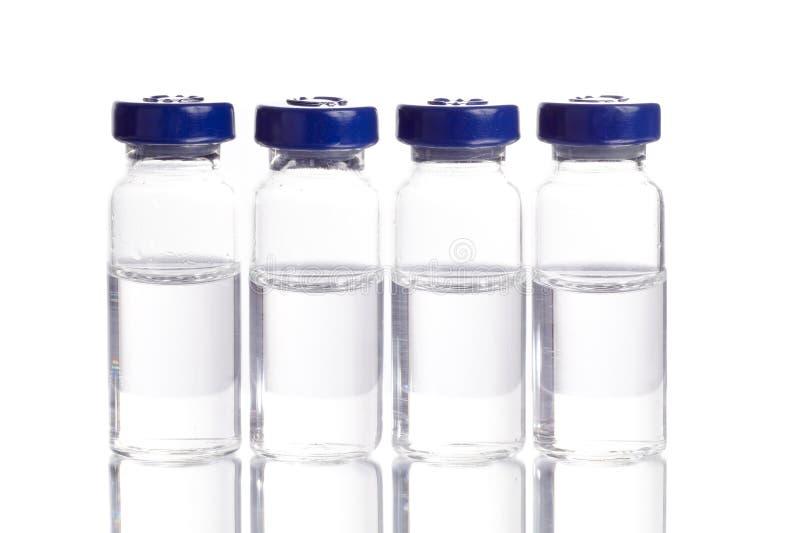 Medycyna w buteleczkach zdjęcie royalty free