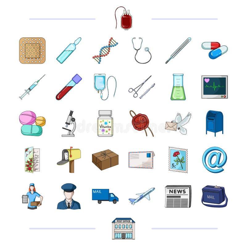 Medycyna, zdrowie, medycyna i inna sieci ikona w czerni, projektujemy ilustracja wektor