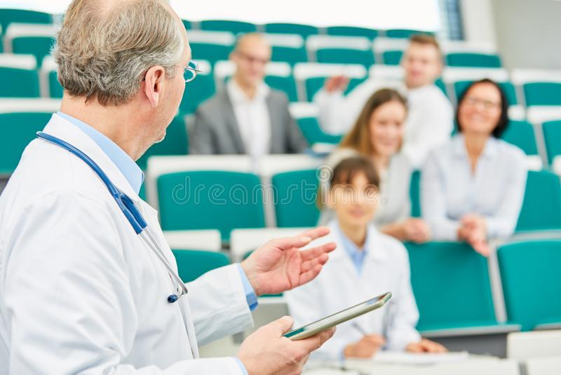 Medycyny aplikantura w uniwersytecie obrazy stock