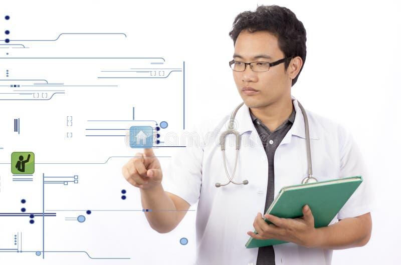 Medycyny lekarki ręki działanie obrazy royalty free