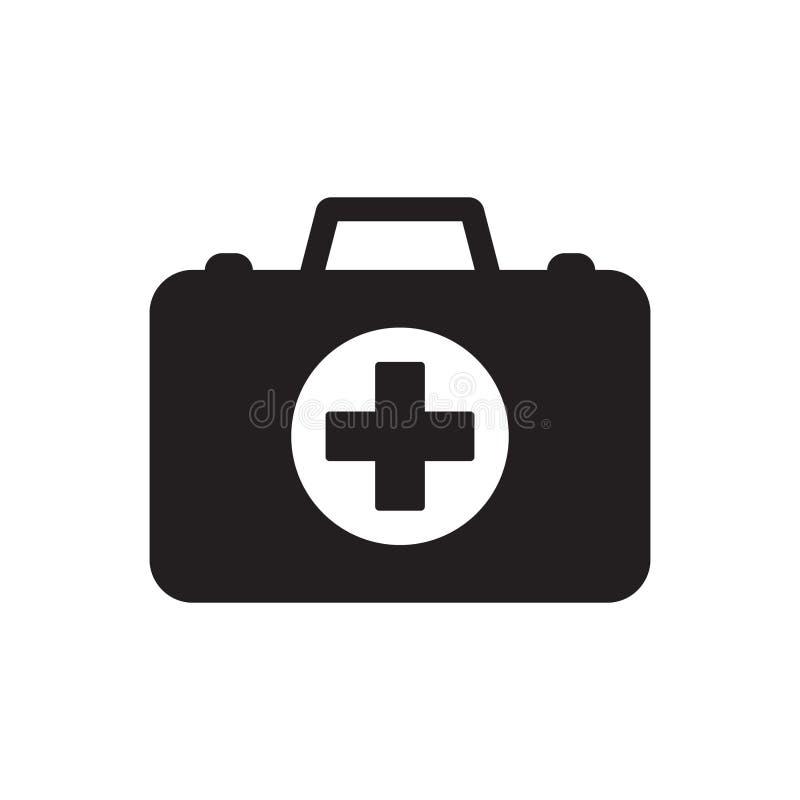 Medycyny teczki ikona ilustracja wektor