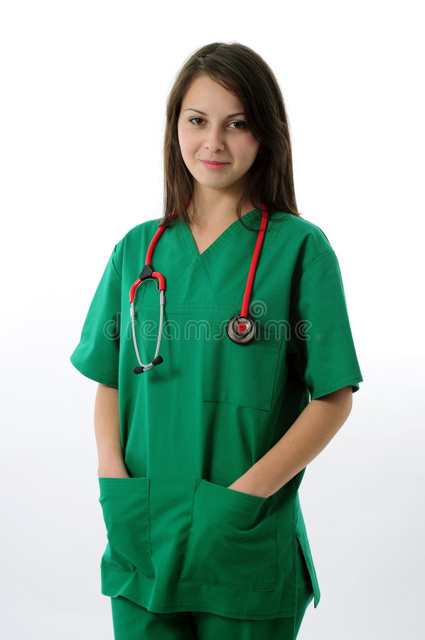 medyczna ładna kobieta fotografia stock