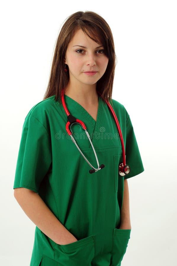 medyczna ładna kobieta fotografia royalty free