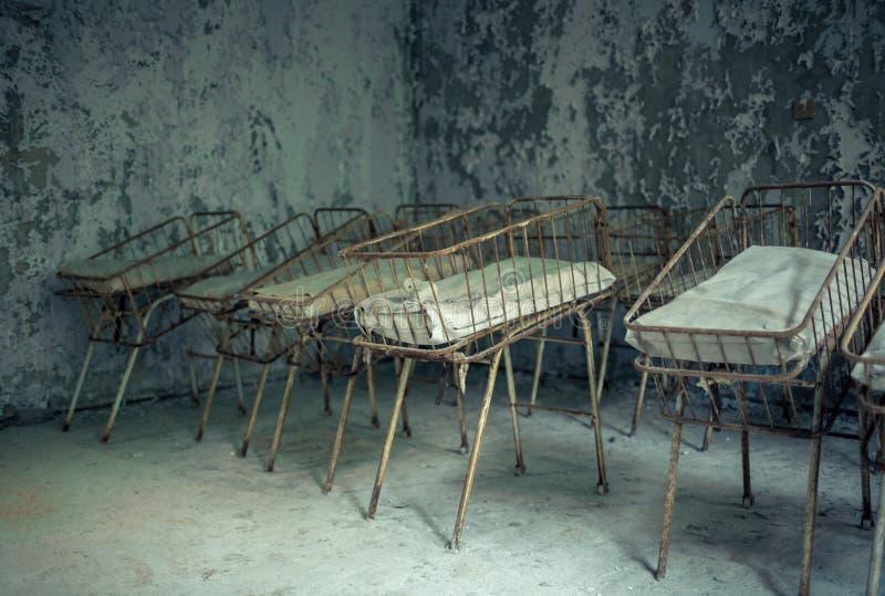 Medyczna część liczba 126 miasto Pripyat zdjęcie stock