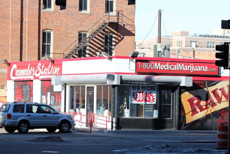 medyczna dispensary marihuana fotografia royalty free