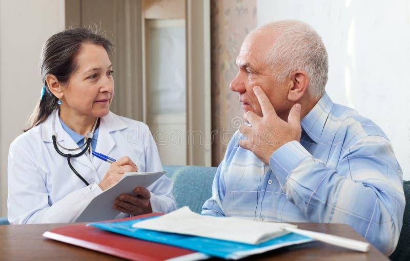 Medyczna Konsultacja obrazy stock