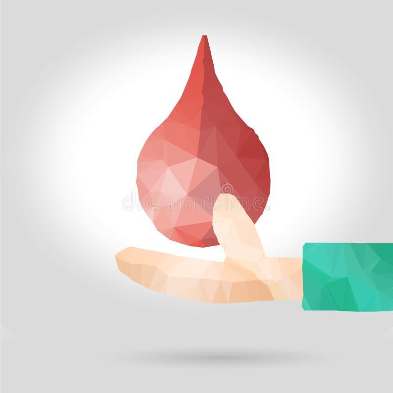 medyczna krwionośna tło darowizna fotografia royalty free