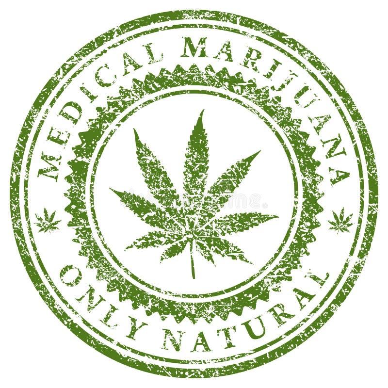 Medyczna marihuana ilustracja wektor