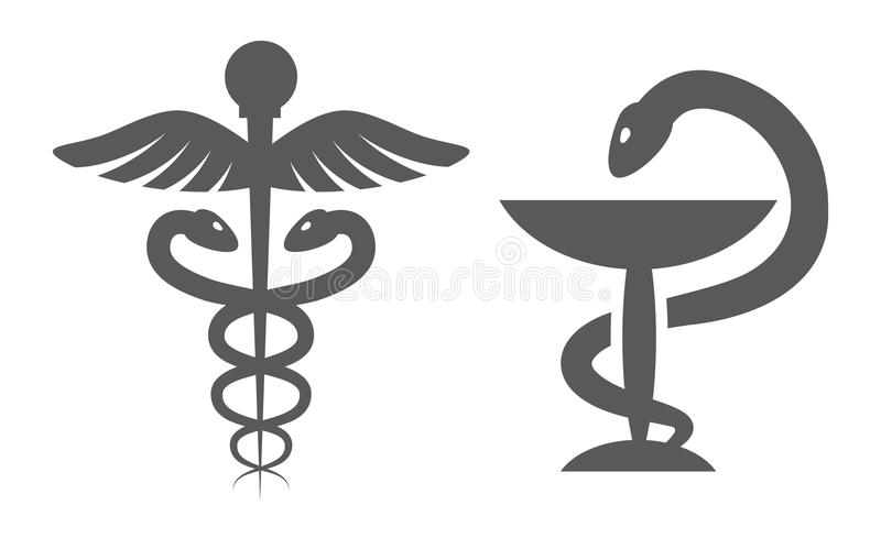 Medyczni symbole ilustracji