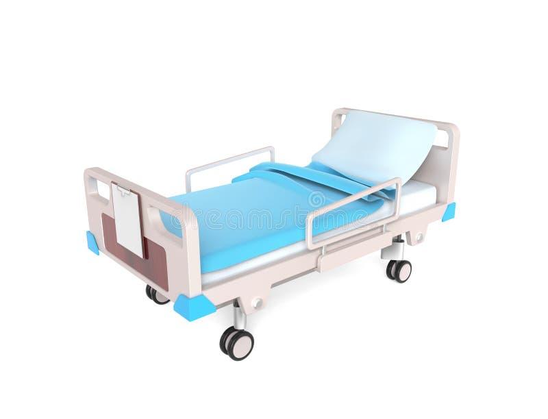 Medyczny łóżko ilustracja wektor