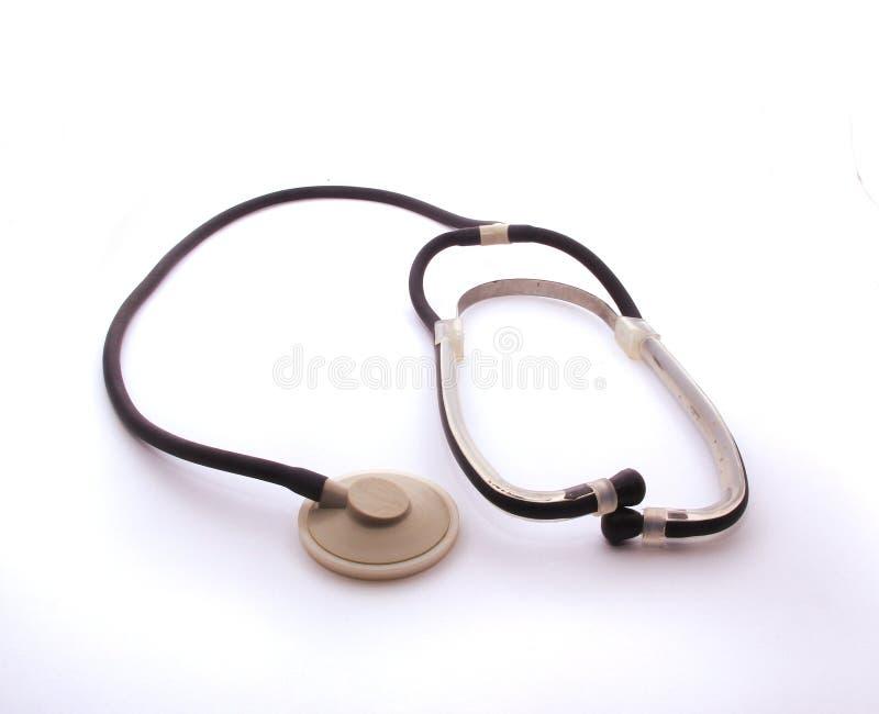 Medyczny akustyczny wyposażenie stetoskop dla słuchać brzmi w ciele zdjęcie stock