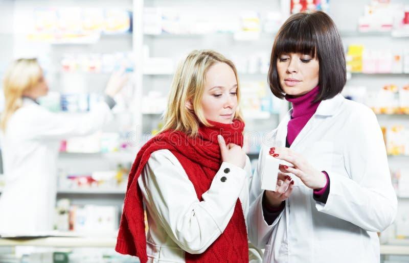 Medyczny apteki leka zakup fotografia royalty free