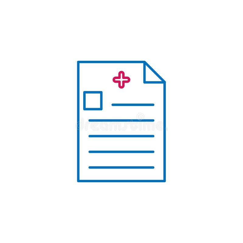 Medyczny, donosi barwioną ikonę Element medycyny ilustracja Znaki i symbol ikona mogą używać dla sieci, logo, mobilny app, UI, ilustracji