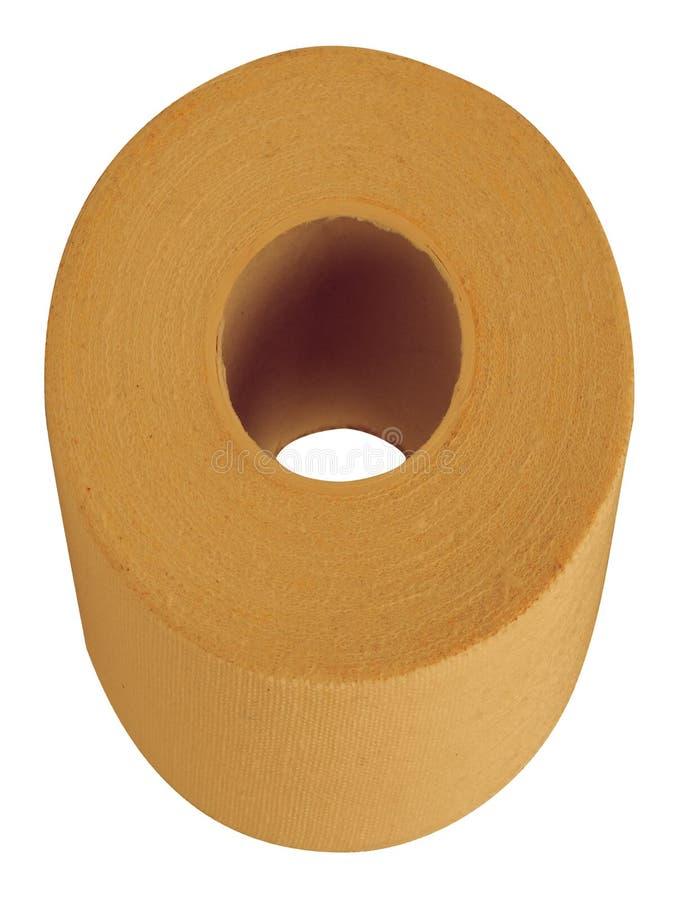 Medyczny elastyczny bandaż na białym tle fotografia stock