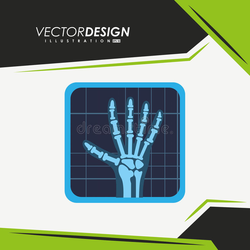 Medyczny ikona projekt ilustracji