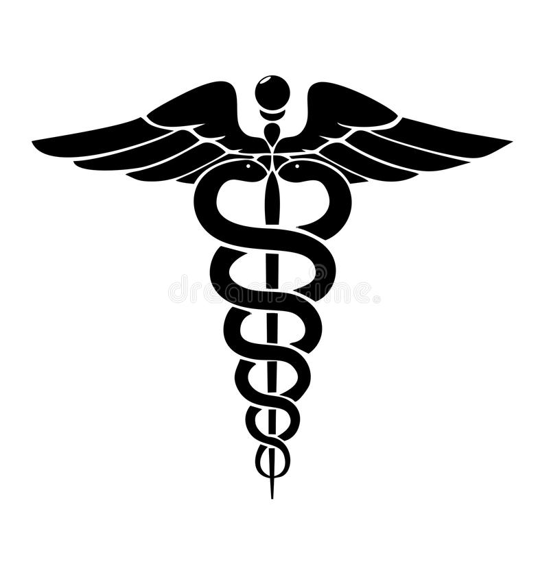 Medyczny logo ilustracja wektor