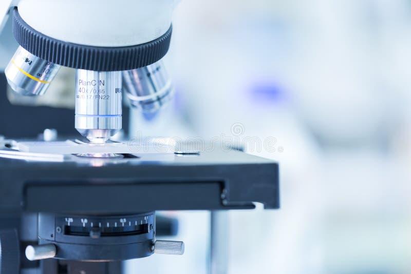 Medyczny mikroskop zdjęcie royalty free