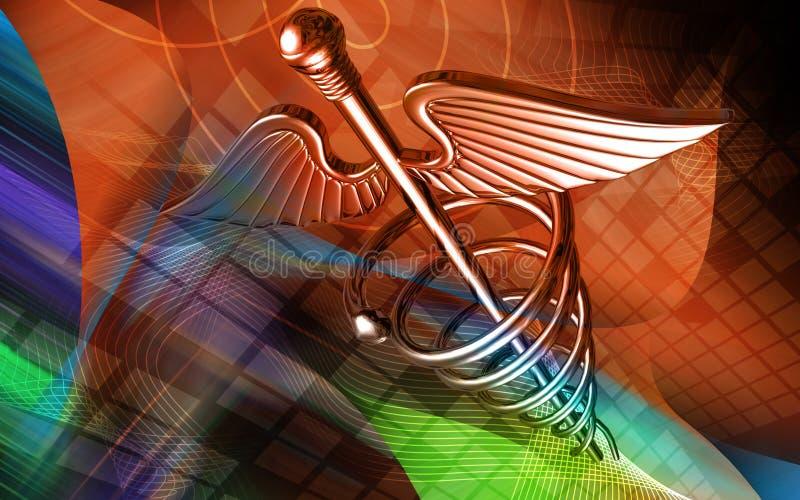 medyczny symbol royalty ilustracja