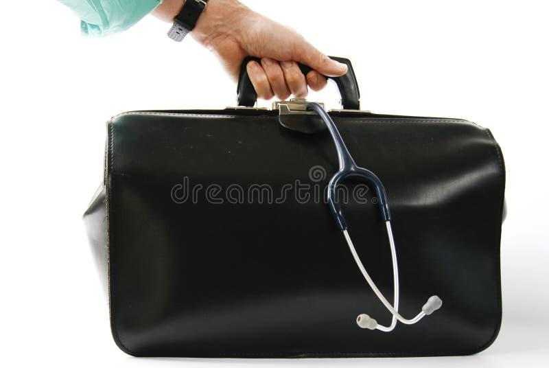 medyczny torby przewożenie obraz stock