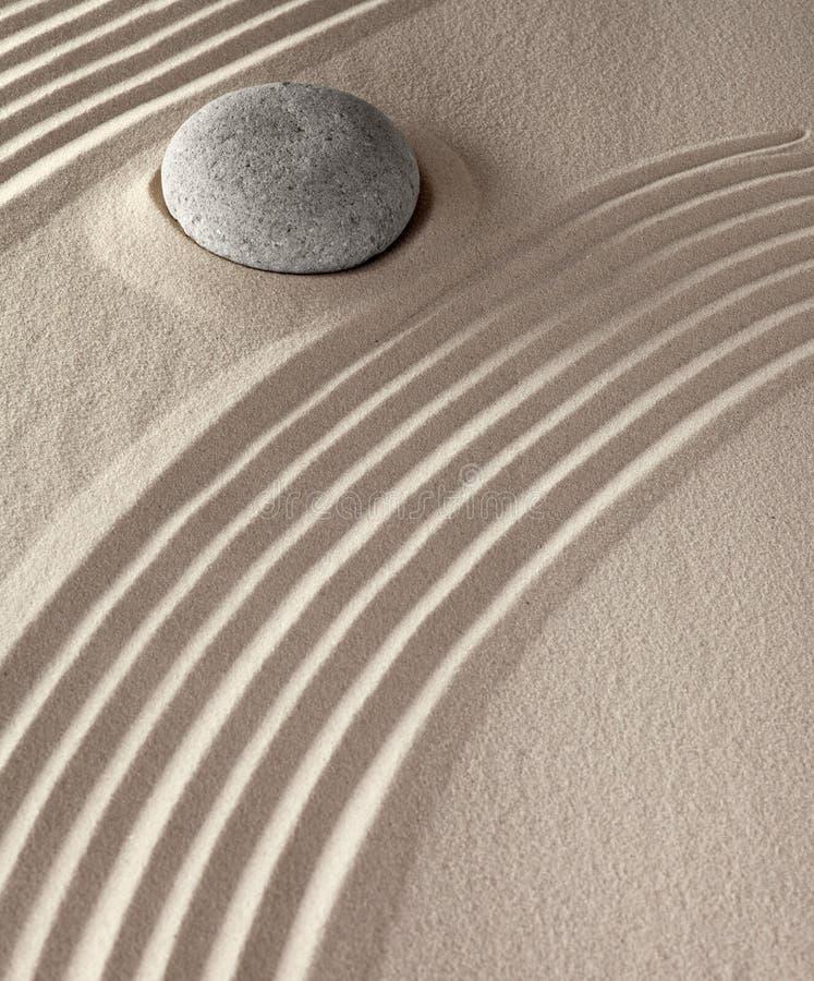medytaci sprawy duchowe obraz stock