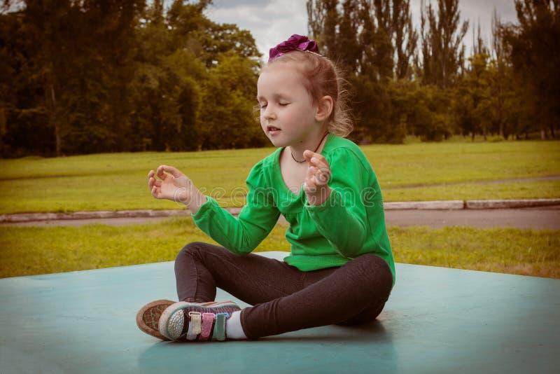 Medytacja jako sposób życia zdjęcia stock