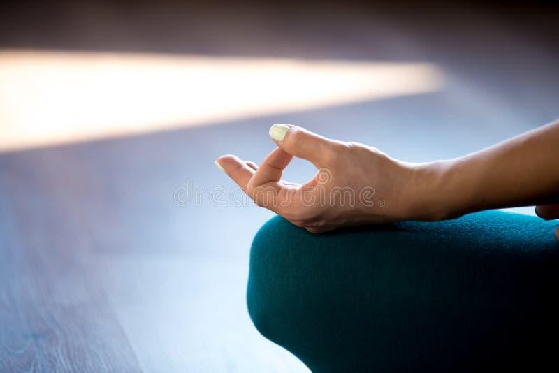 Medytacja, zakończenie zdjęcia royalty free