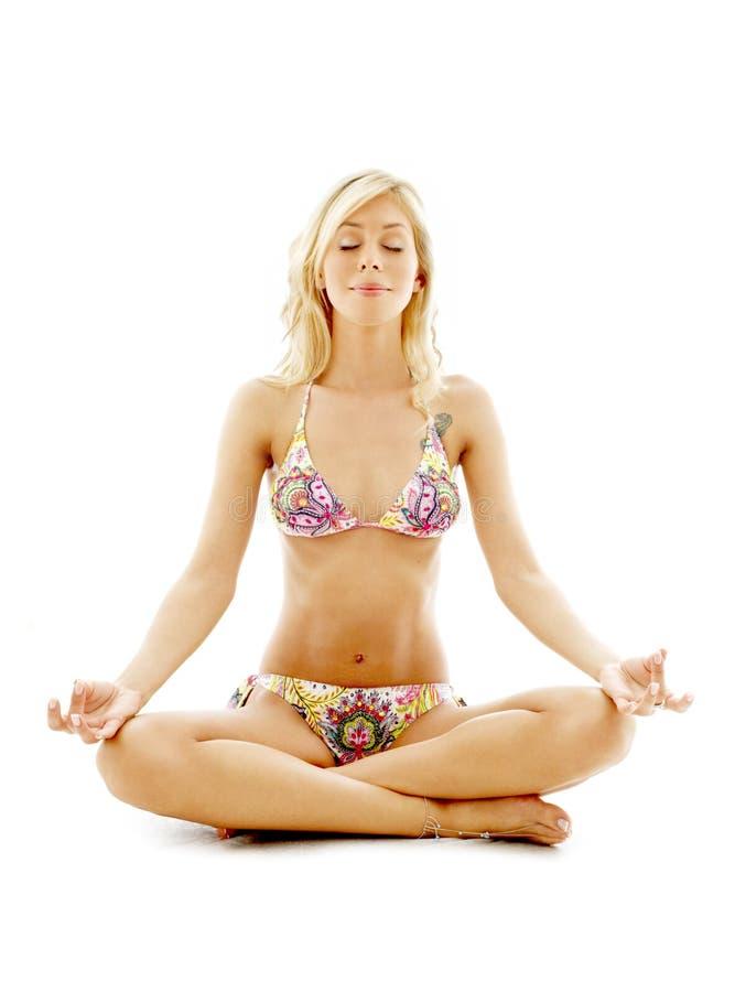 2 medytacji obrazy royalty free