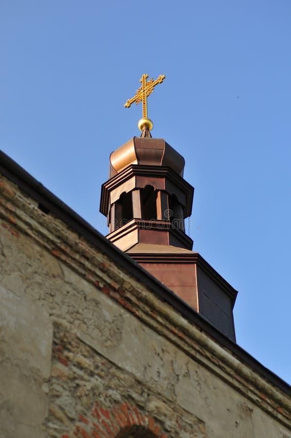Medzhybizhkasteel - de Oekraïne royalty-vrije stock fotografie