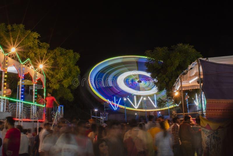 Meegesleept Carnaval stock afbeelding