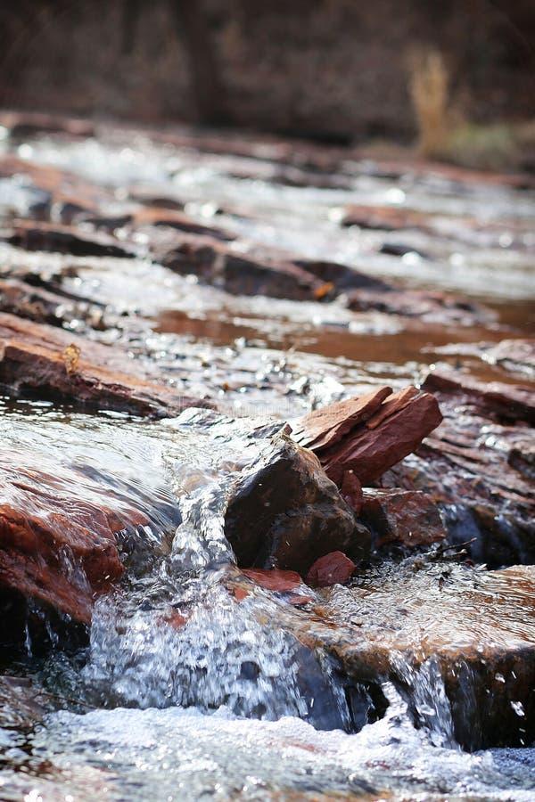 Meegesleepte Wateren stock fotografie