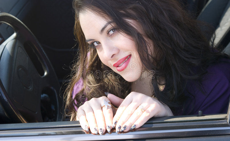 Download Meek woman stock image. Image of fingernails, facial, person - 8700411
