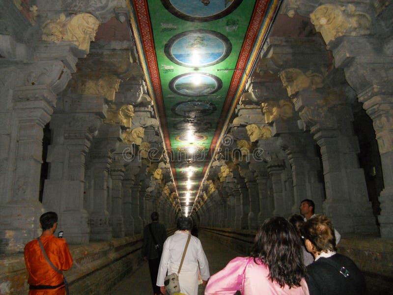 Meenakshi świątynia zdjęcie royalty free