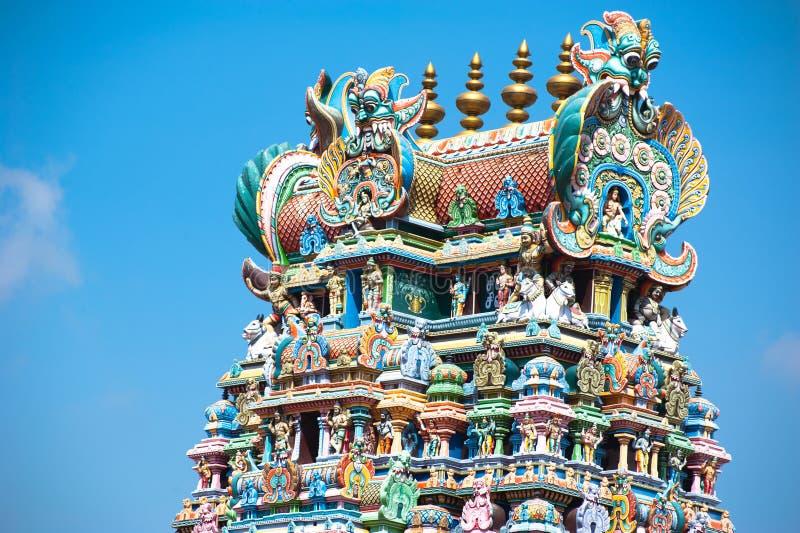 Meenakshi świątynia w Madurai. India, Madurai obrazy royalty free