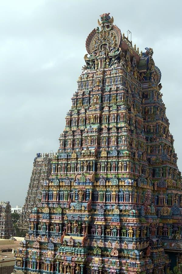 Meenakshi Świątynny Madurai India obrazy stock